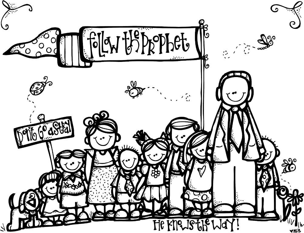 Lds Coloring Page.