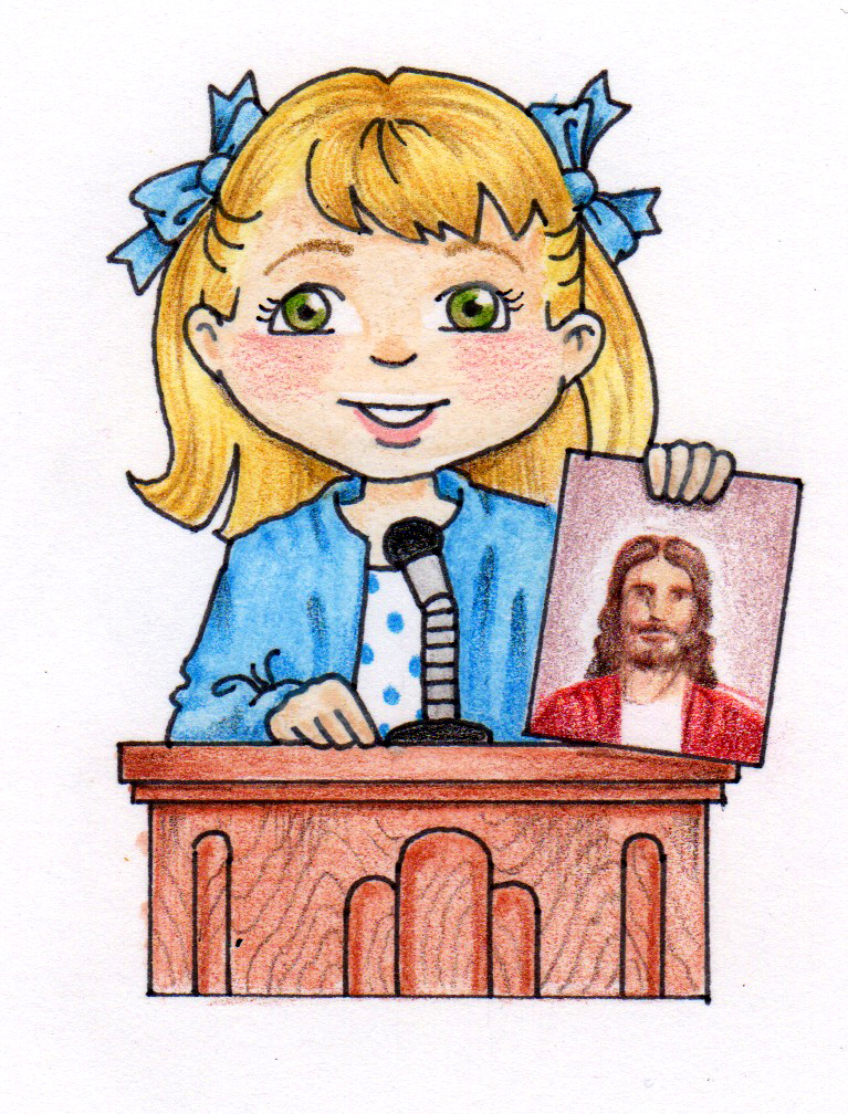 Lds Primary Talk Clipart.