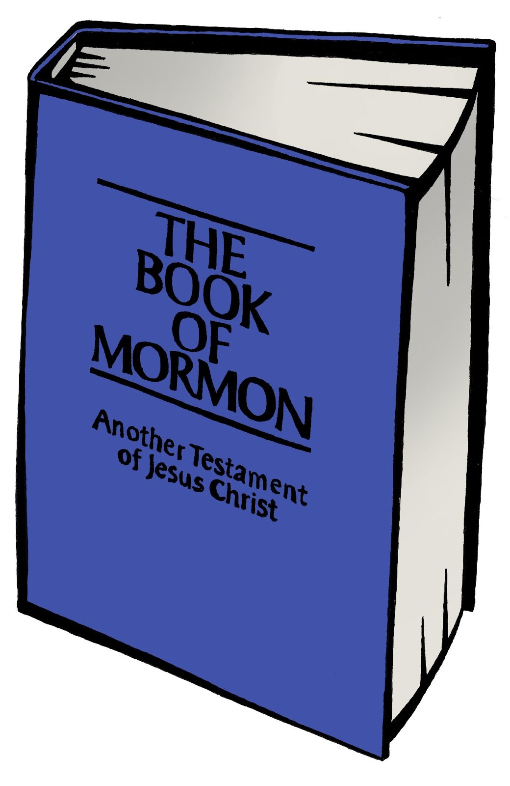 Book Of Mormon Clipart.