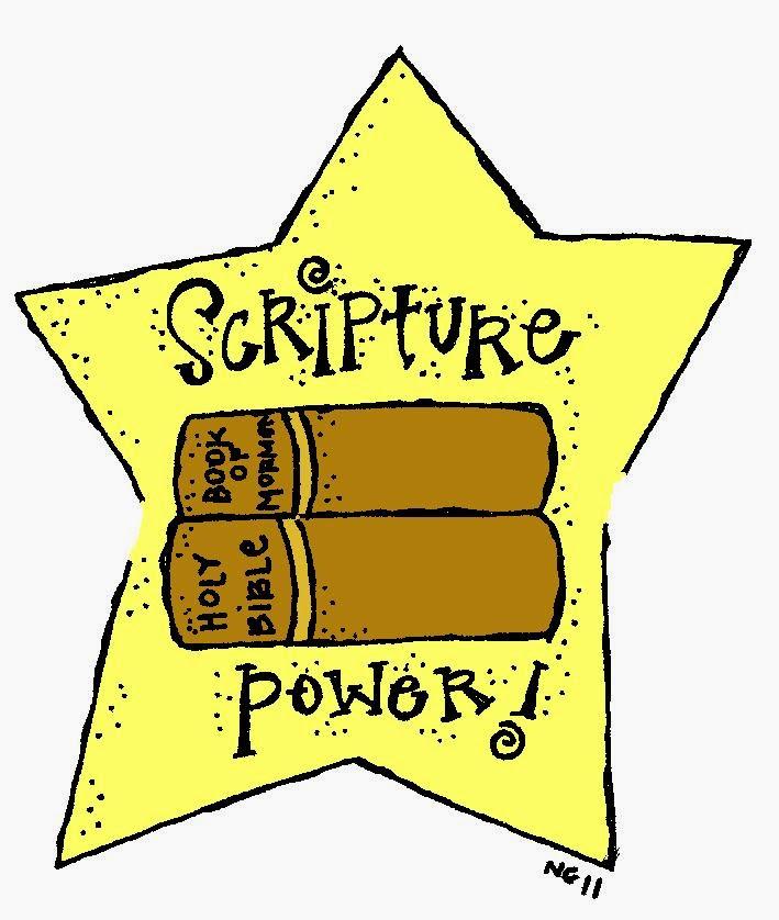 Melonheadz LDS illustrating: Scriptures.