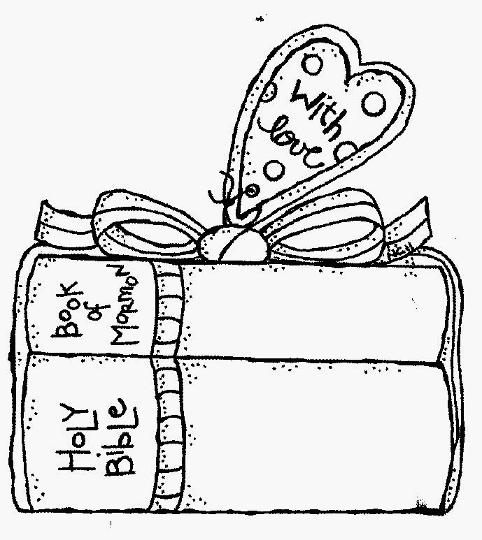 Lds scriptures clip art.
