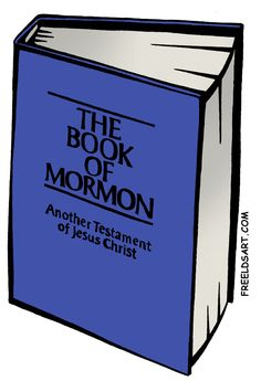 Bible And Book Of Mormon Clipart.