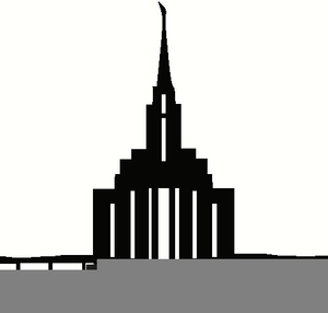 Temple Lds Clipart.