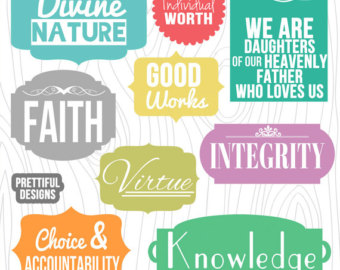 lds yw values clipart #3