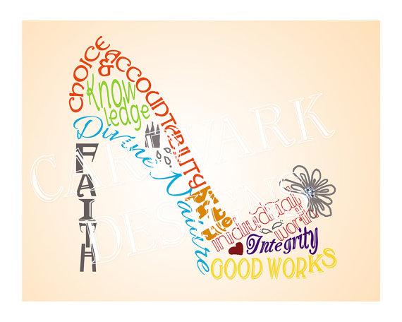 Similiar YW Values LDS Clip Art Keywords.