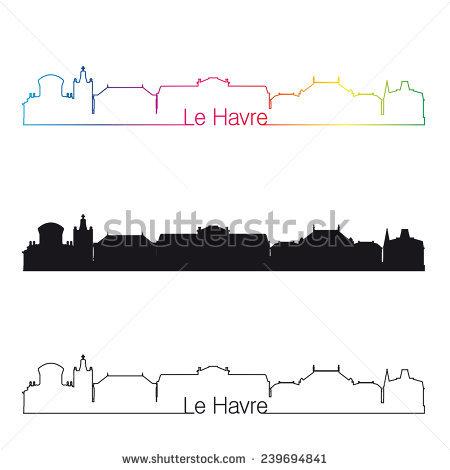 Le Havre Travel Stock Vectors & Vector Clip Art.