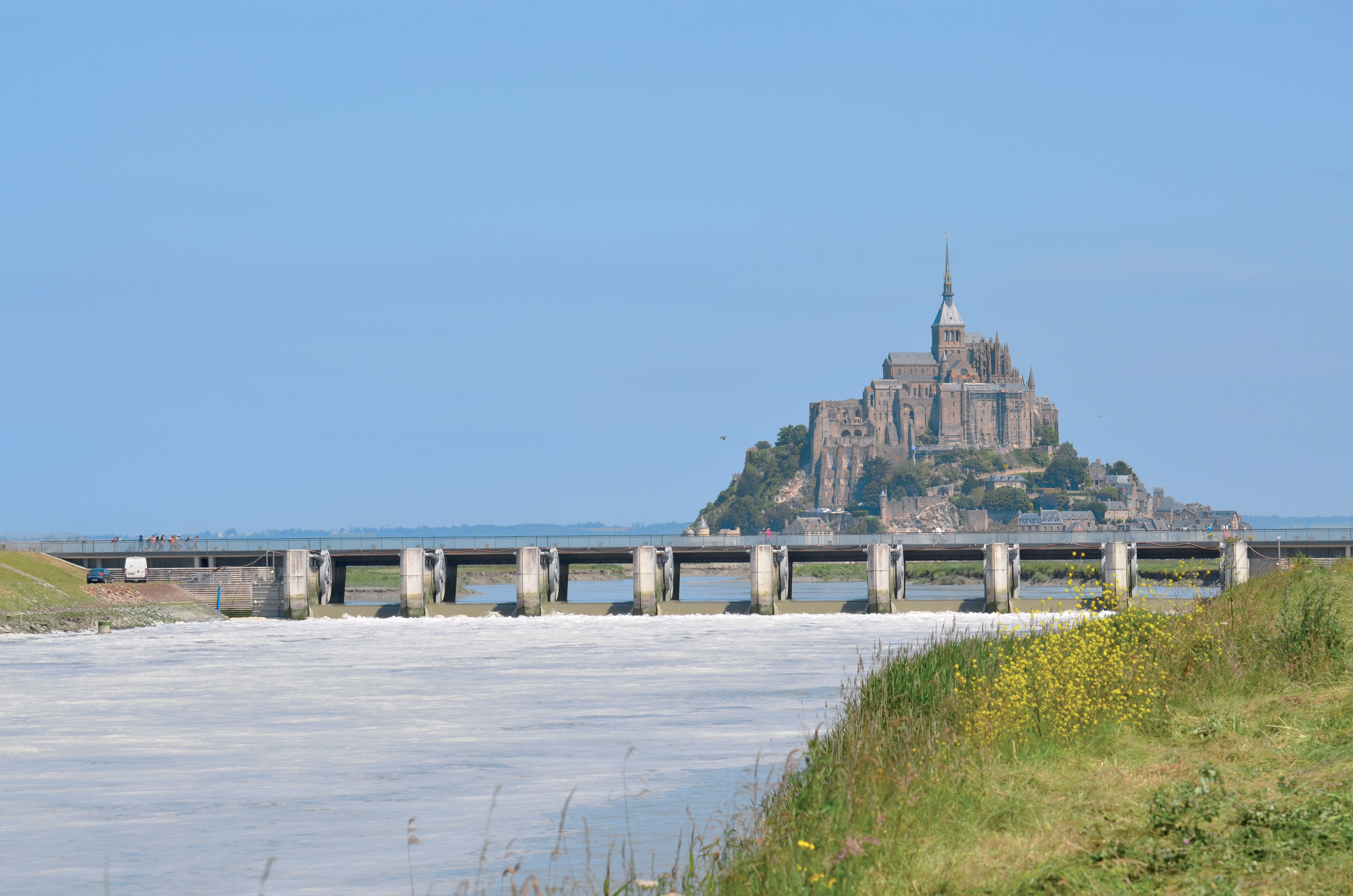 Welcome to Mont Saint Michel.