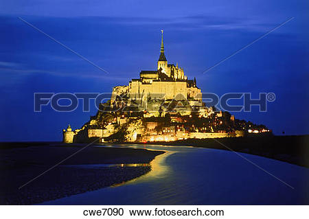 Stock Photography of Le Mont.