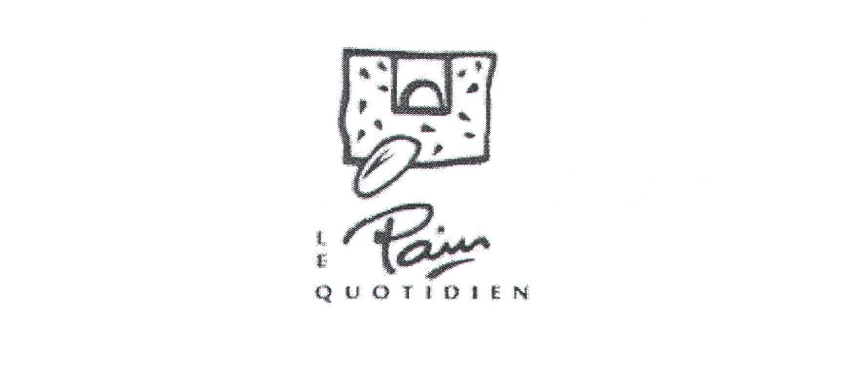 Le pain quotidien Logos.