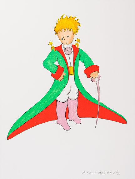 Le Petit Prince En Grand Manteau.
