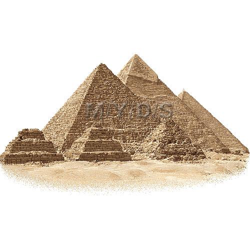 Le Piramidi di Giza / Raccolta di materiale grafico gratuito.