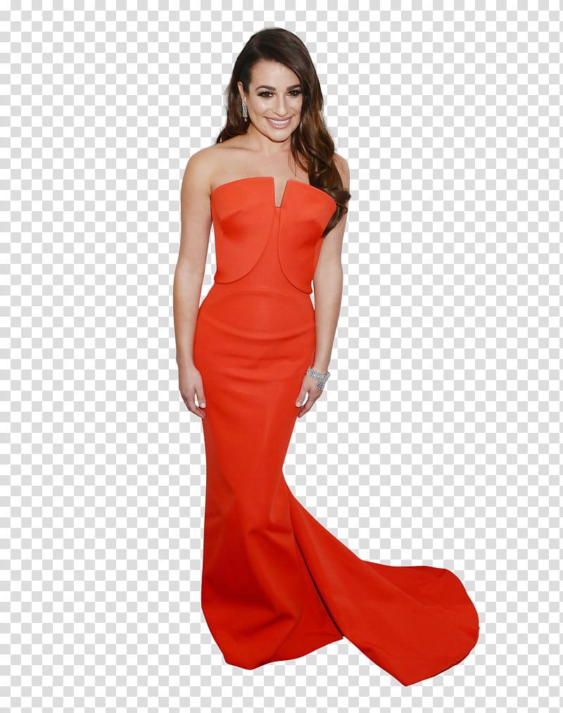 Lea Michele transparent background PNG clipart.