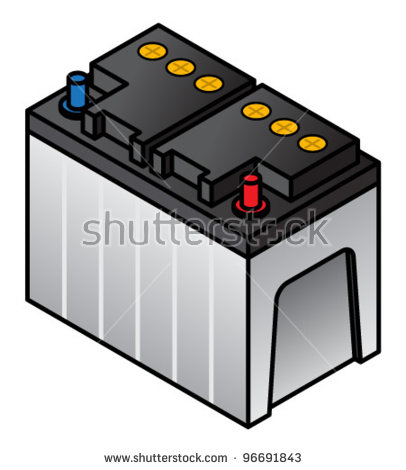 Lead Acid Batteries Clip Art.