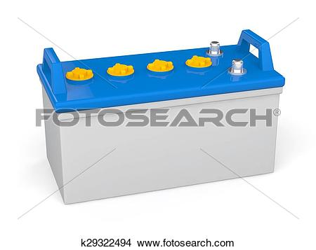 Drawings of 3d lead acid battery k29322494.