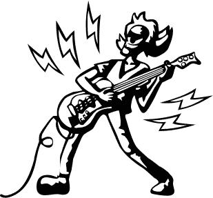 Electric Guitar Clip Art Download.