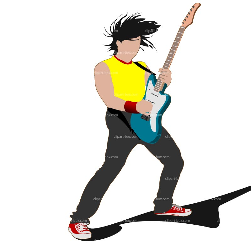 Rock Guitar Clipart.