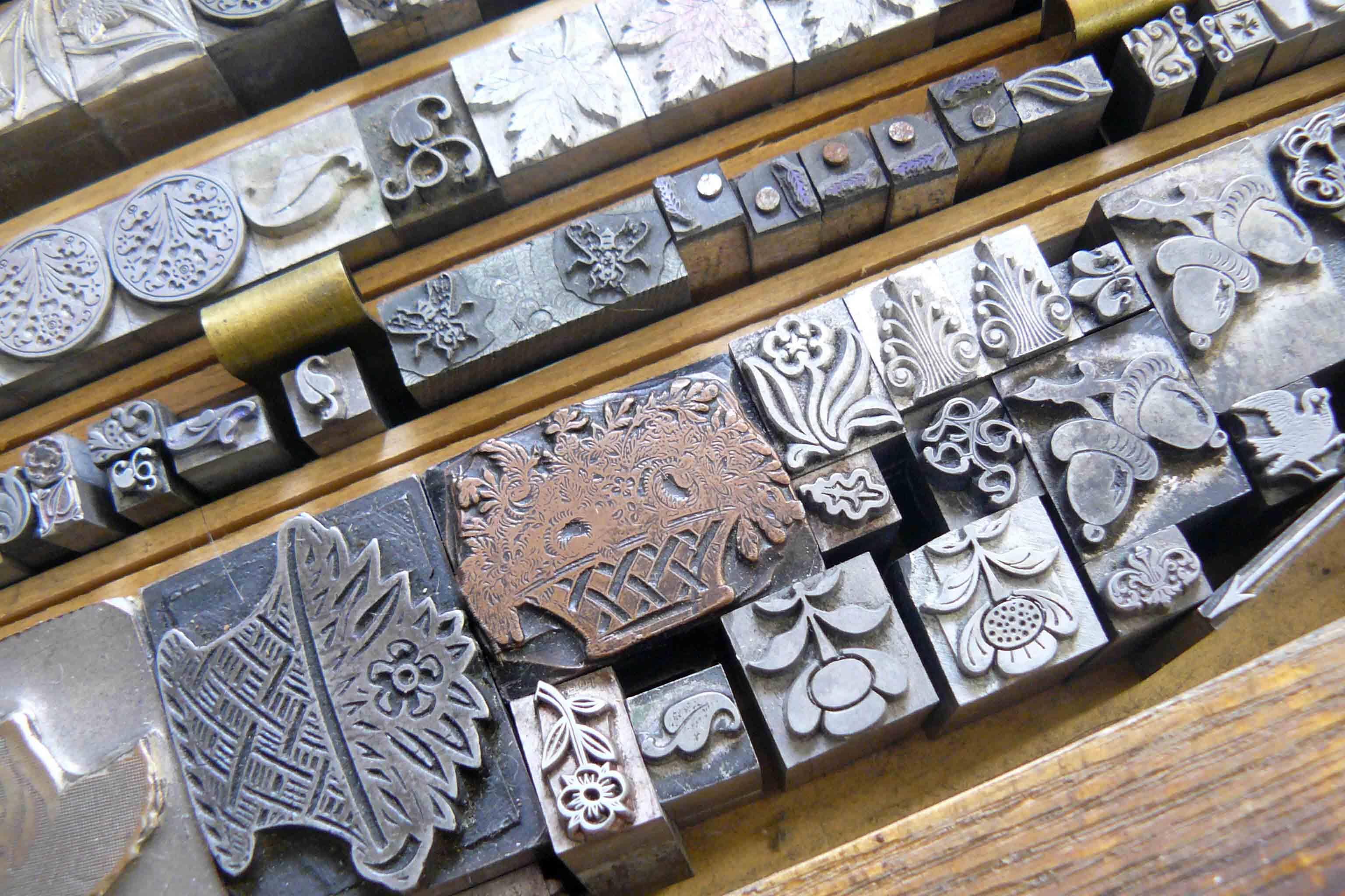 Scenes from a Letterpress Printshop — My Beautiful Old Lead Type.
