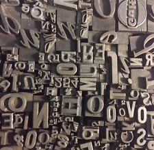 Printing Type, Cuts & Printing Blocks.
