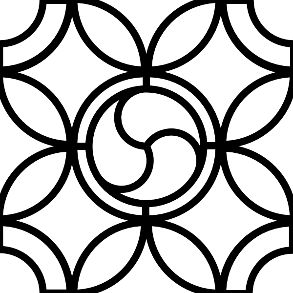 Leaded Glass Pattern Outline Clip Art at Clker.com.