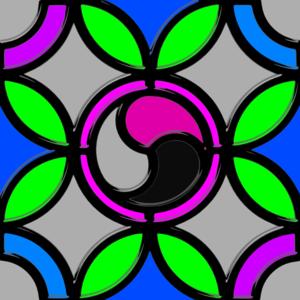 Leaded Glass Pattern Clip Art at Clker.com.
