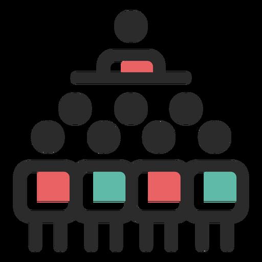 Team leadership icon.