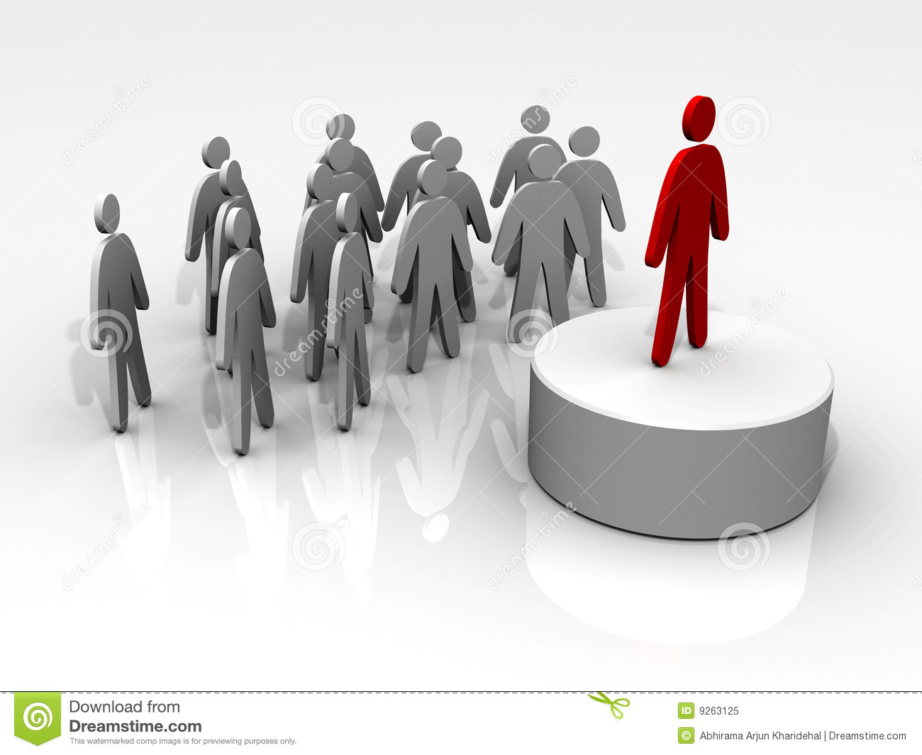 Leading people clipart.