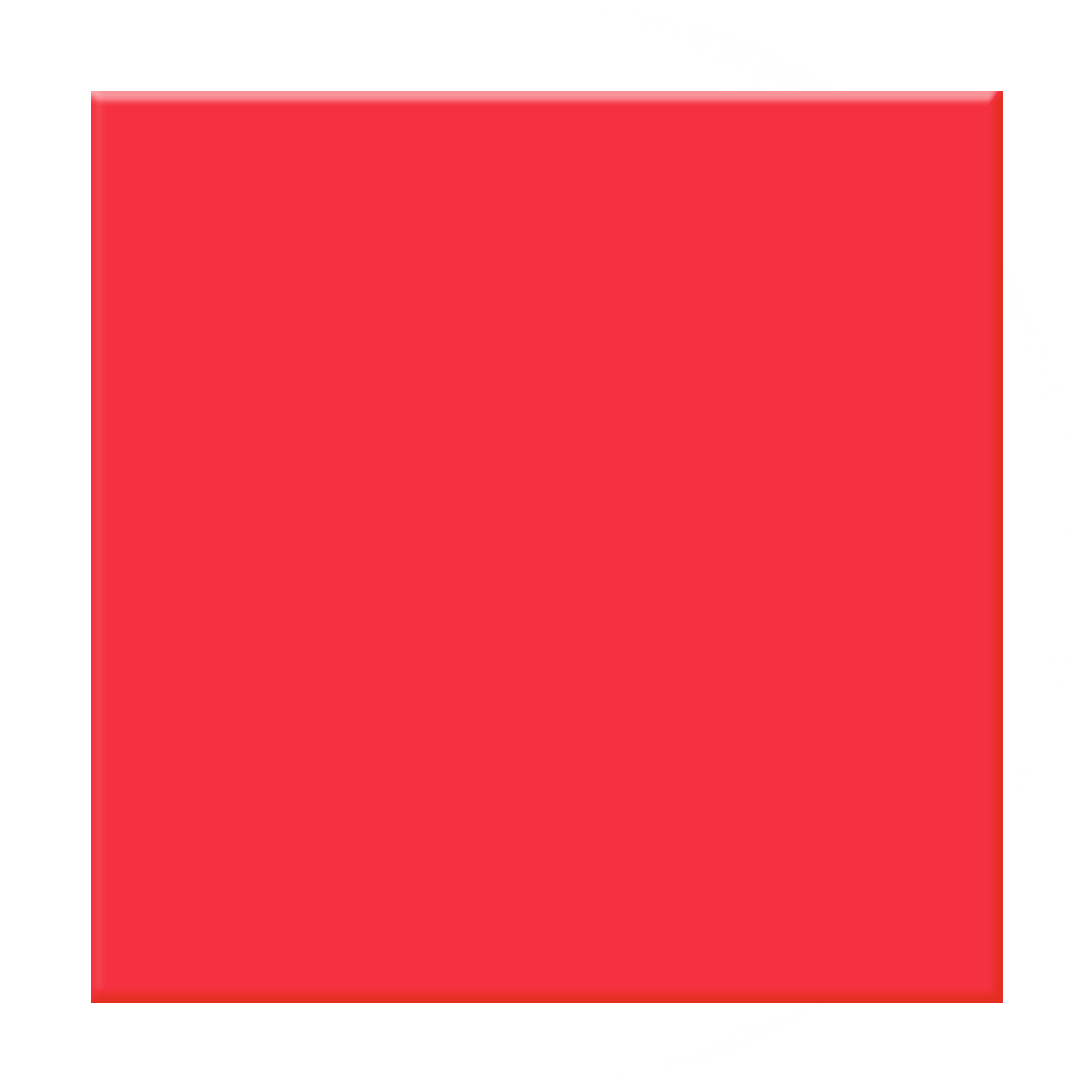 Red Square Clipart.