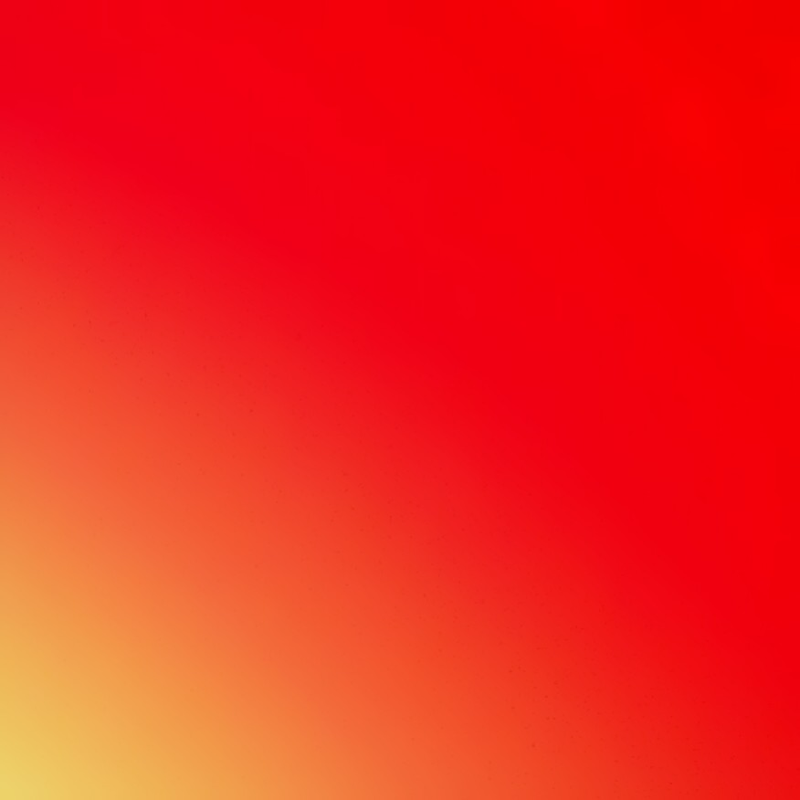 Yellowish Orange And Pinkish Red Square Wallpaper Background.