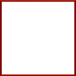 Cute square red clipart border.