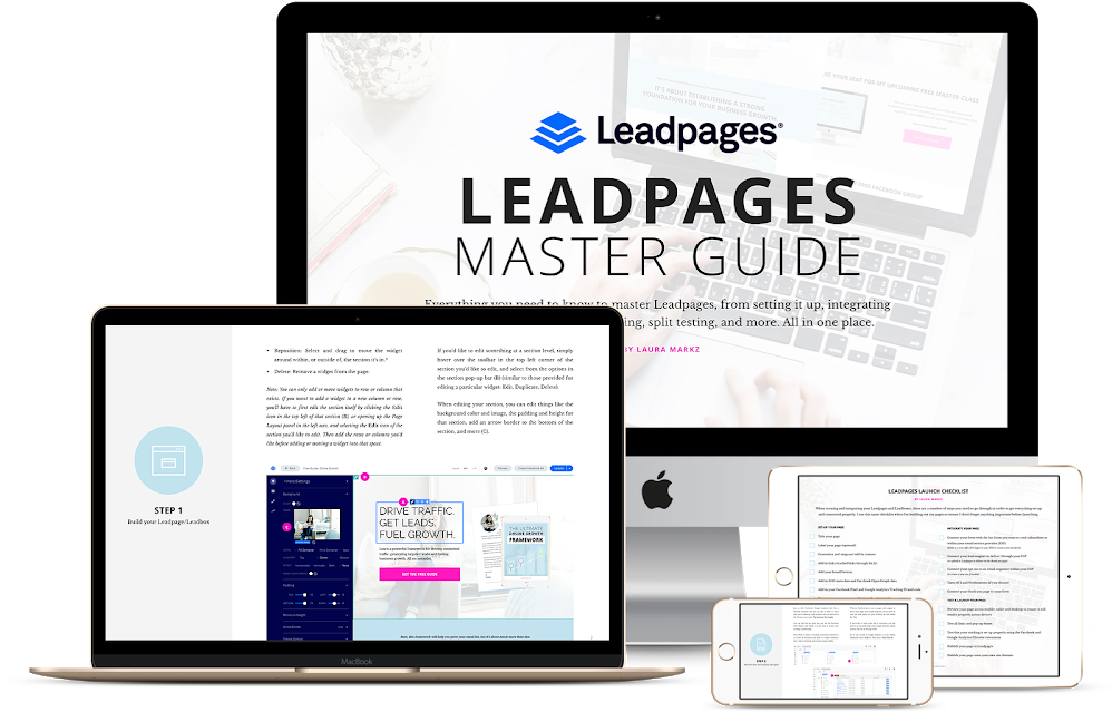 Leadpages Master Guide.