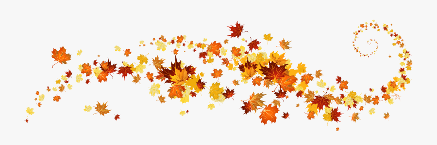 Fall Leaves Banner Clip Art , Free Transparent Clipart.