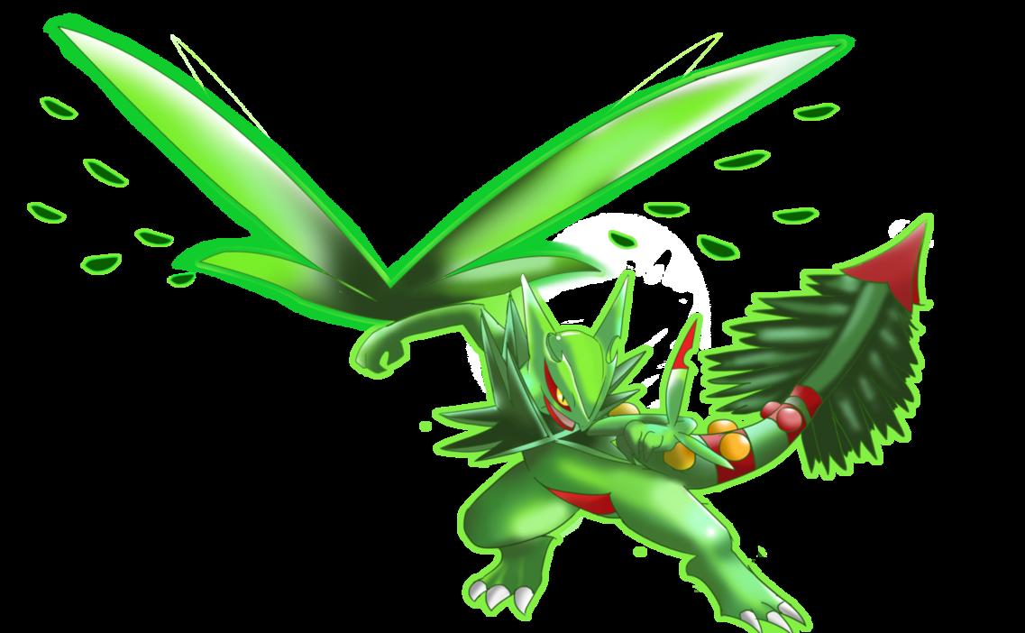 Pokken LeafBlade by HarlequinWaffles on DeviantArt.