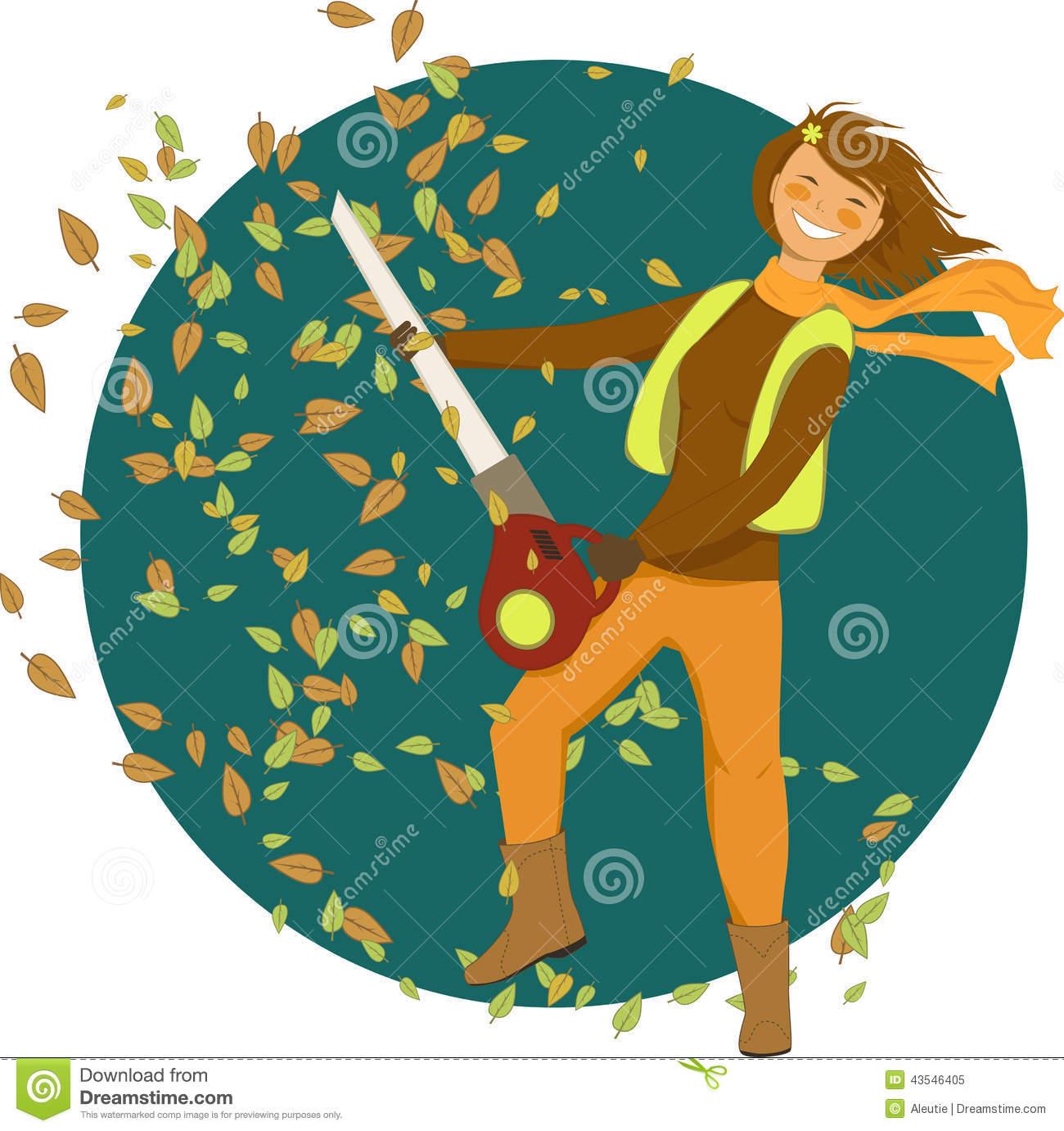 Leaf Blower Stock Illustrations.