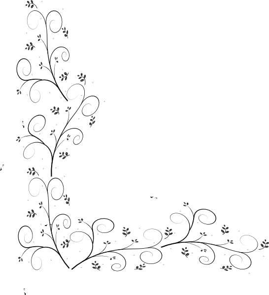 Leaf border black and white clipart images gallery for free.