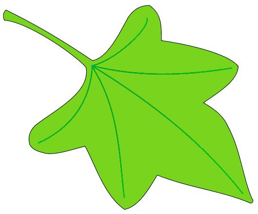 Leaf clip art free outline free clipart images.