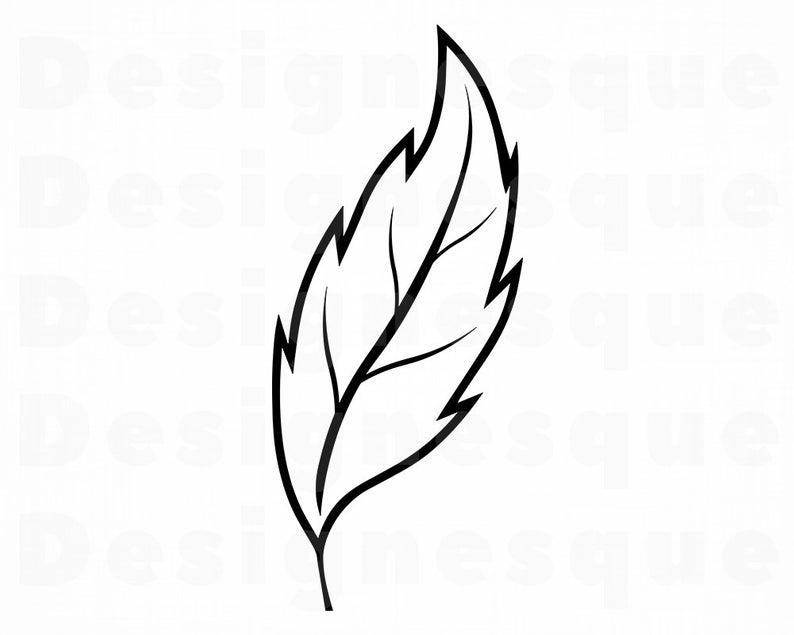 Leaf Outline #3 SVG, Leaf SVG, Leaf Clipart, Leaf Files for Cricut, Leaf  Cut Files For Silhouette, Leaf Dxf, Leaf Png, Leaf Eps, Leaf Vector.