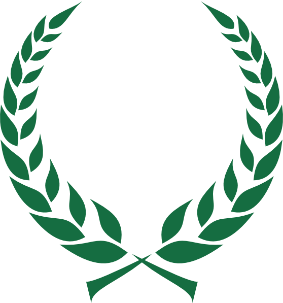 Leaf Crown Clipart.