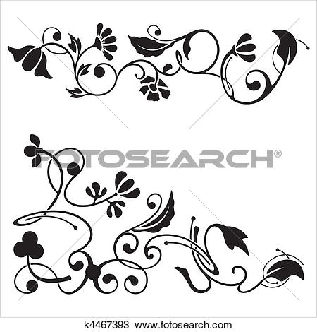 Clipart of Classic Frieze Design k4467393.