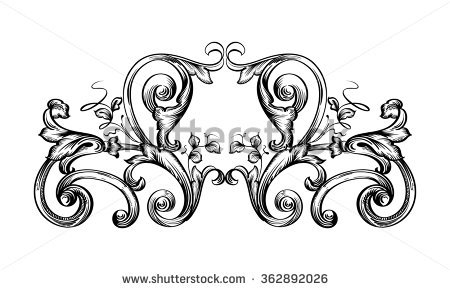 Frieze Flourishes Stock Vectors & Vector Clip Art.