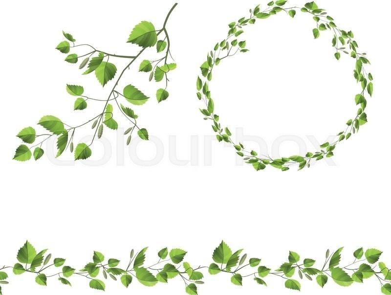Leaf garland clipart 6 » Clipart Portal.