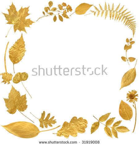 Gold Leaf Rose Stock Photos, Royalty.