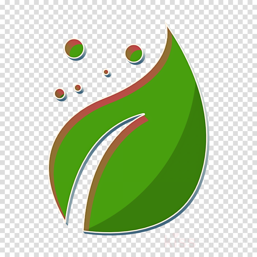 Agriculture icon Leaf icon clipart.