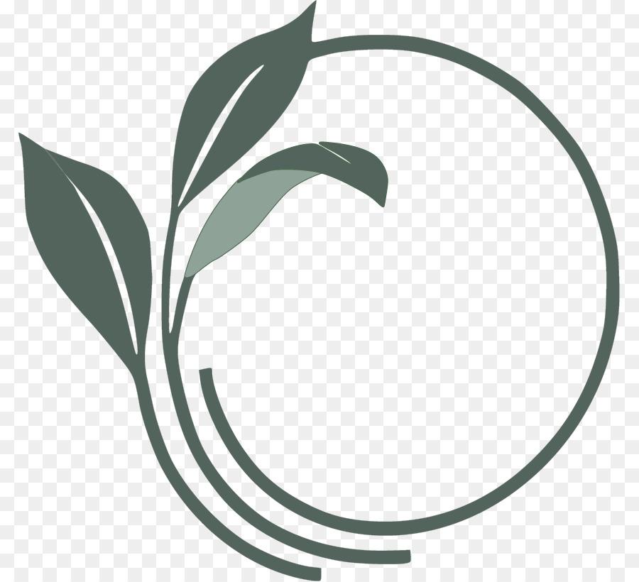 Tea Leaf Logo clipart.