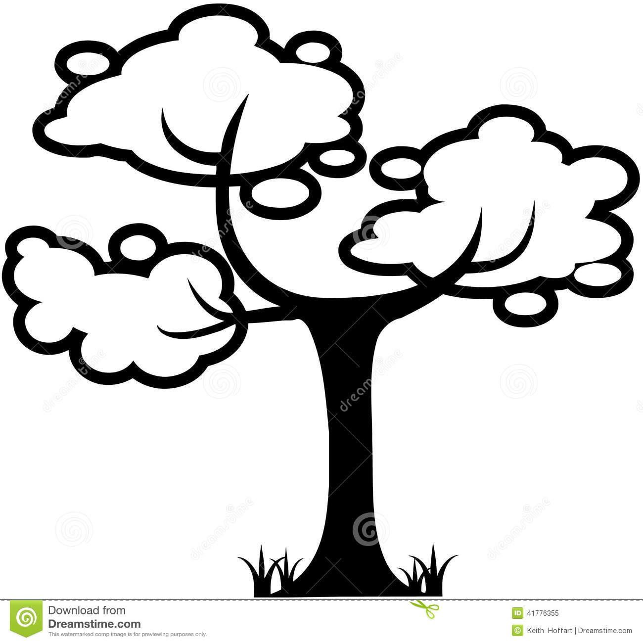 Tree Nature Leaf Cartoon Vector Clipart Stock Vector.