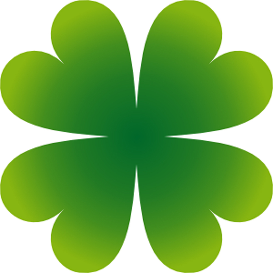 Four Leaf Clover Copy Web The Gannon Knight Clipart.
