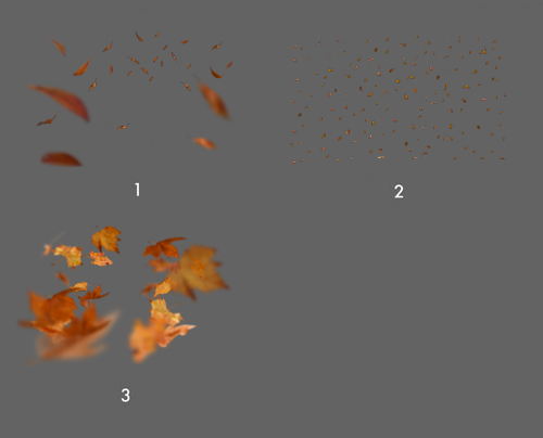 JD Special Effects: Leaf Overlays & Actions.