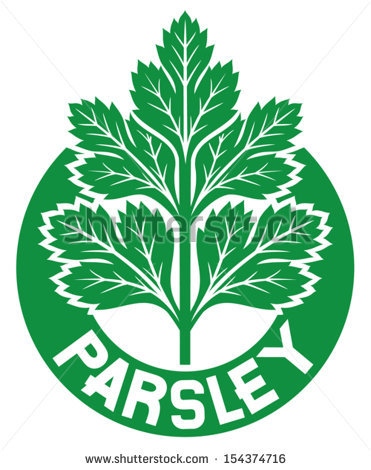 Parsley Leaves Stock Images, Royalty.