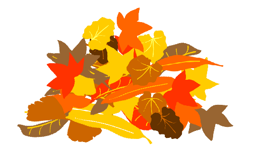 Fall Leaf Pile Clipart.
