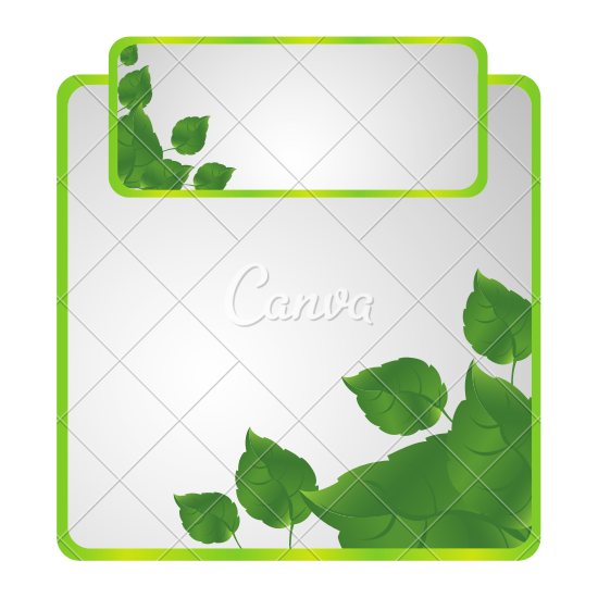 Green Sheath of Leaves Icon.