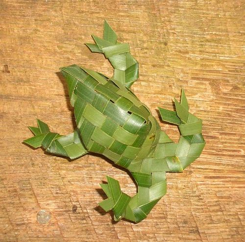 1000+ images about palm frond crafts on Pinterest.